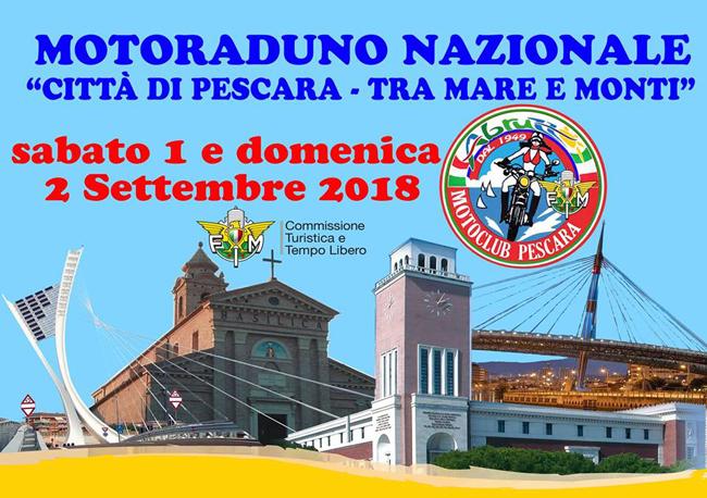 motoraduno nazionale Pescara