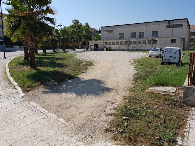 parcheggio palestra Fossacesia