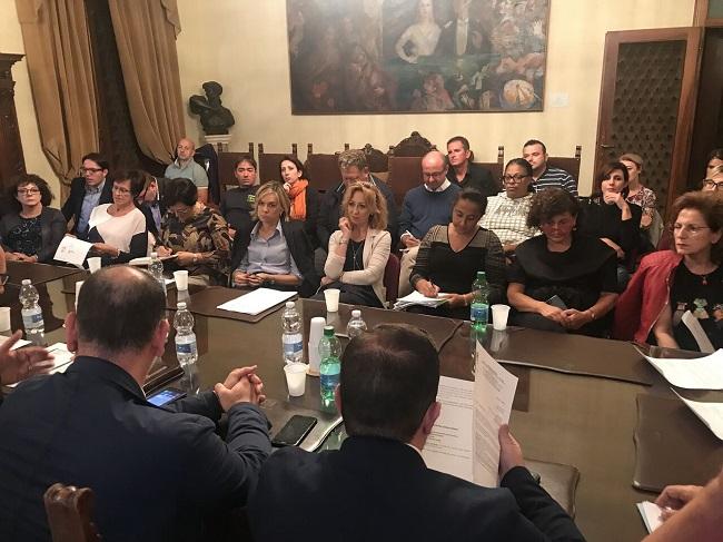 riunione mensa
