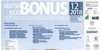 Sisma Eco Bonus: convegno nazionale Pescara