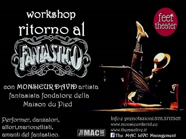 workshop Monsieur David Cepagatti