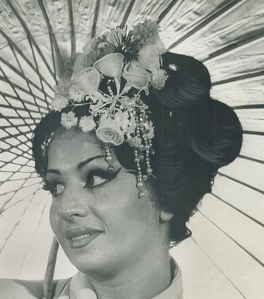 il soprano Anna Maria Pellegrini