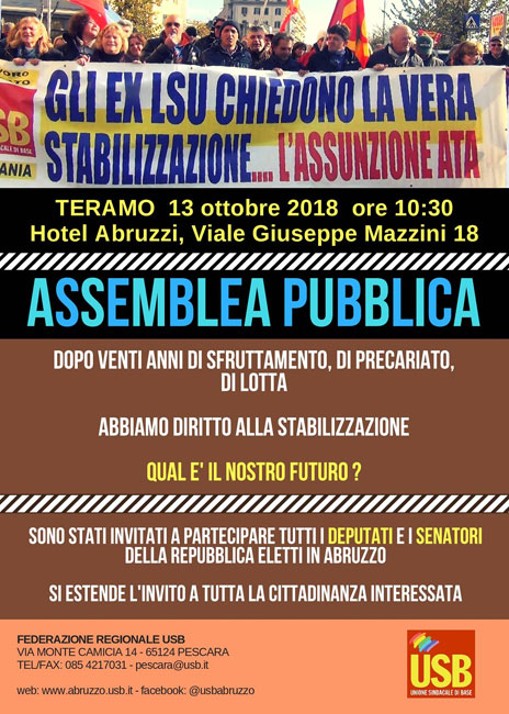 assemblea pubblica