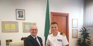 Giulianova, visita del Presidente del TAR Abruzzo