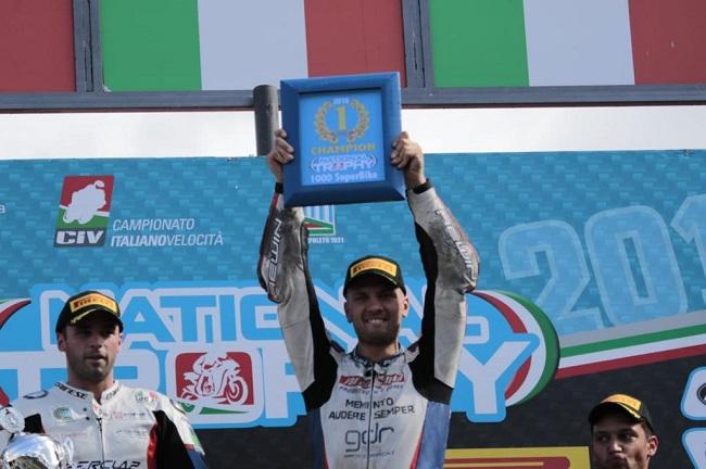 Federico D'Annunzio Campione Italiano CIV National Trophy