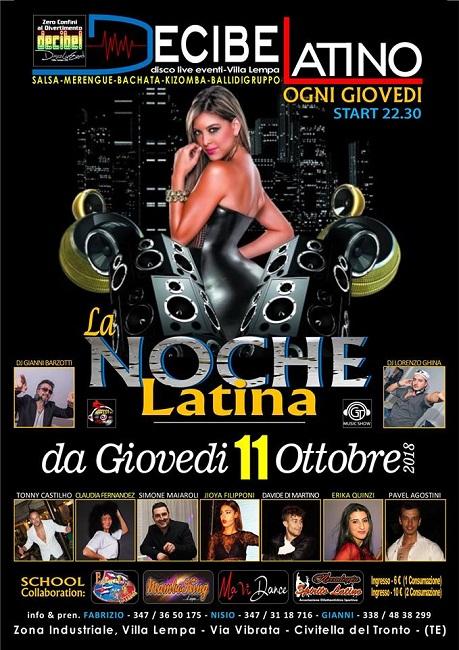 decibel latino 11 ottobre