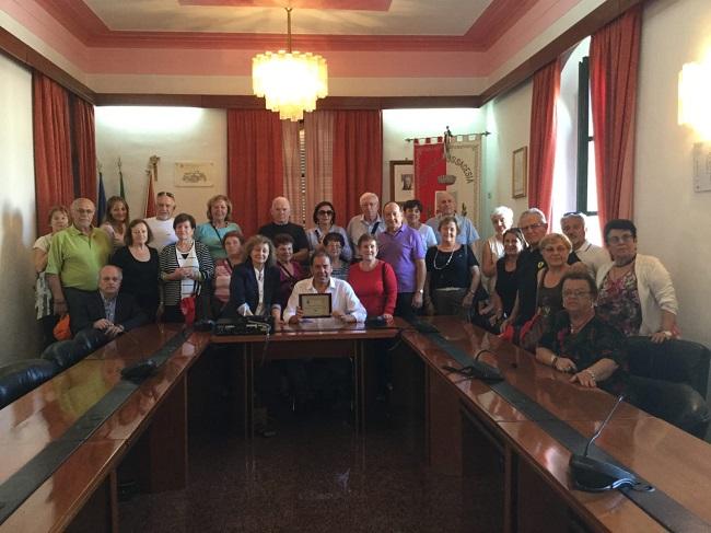 delegazione canadese a Fossacesia