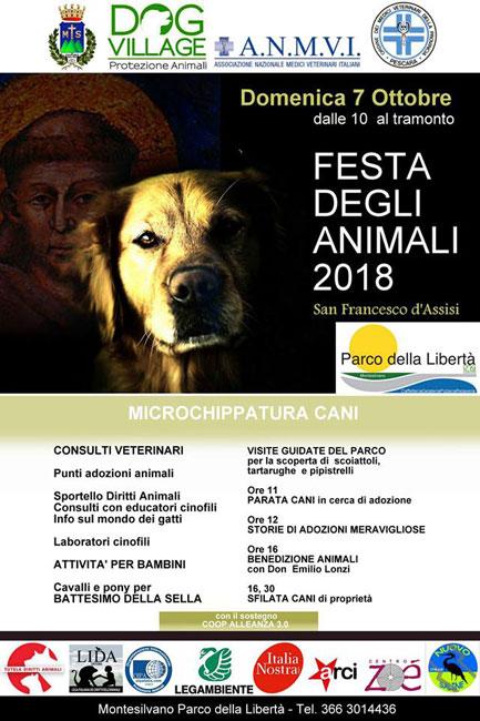 festa degli animali 2018