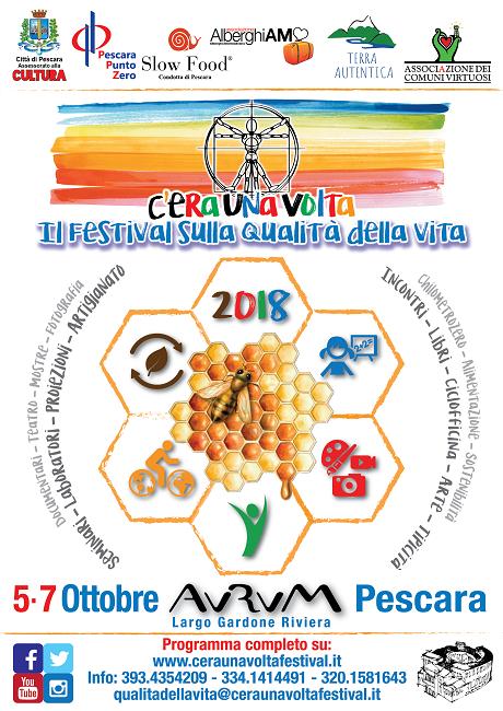 festival sulla qualità della vita Aurum Pescara 2018