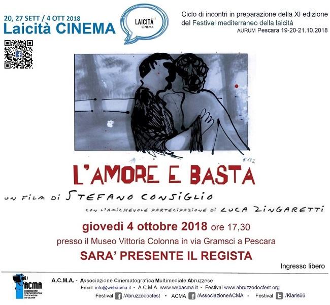 laicita cinema 4 ottobre 2018