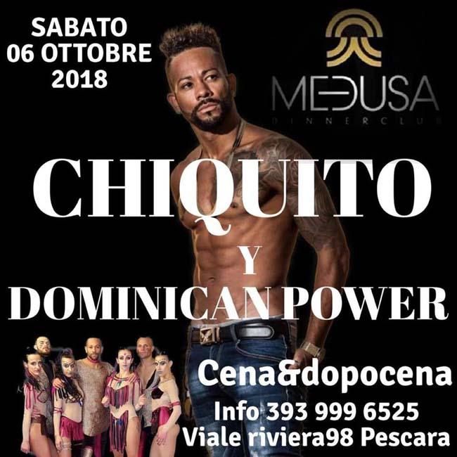 Medusa sabato latino 6 ottobre 2018