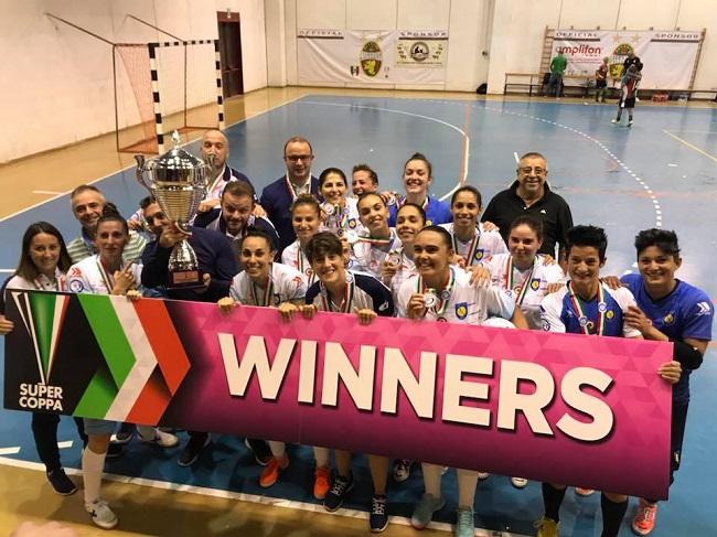 Supercoppa Italiana Femminile trionfa Montesilvano