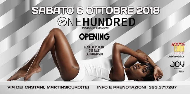 one hundred 6 ottobre