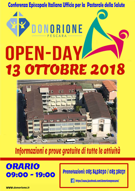 open day 2018 Don Orione