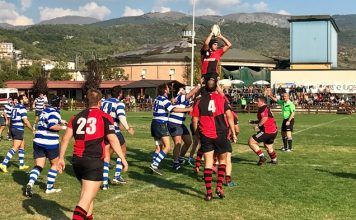 paganica rugby 14 ottobre 2018