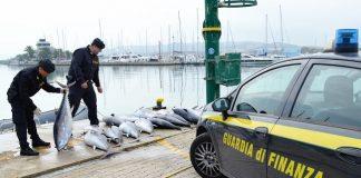 Pescara sequestro tonni
