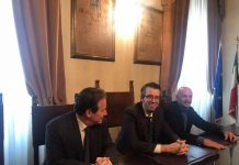 presentazione evento Mogol canta Battisti a Pescara