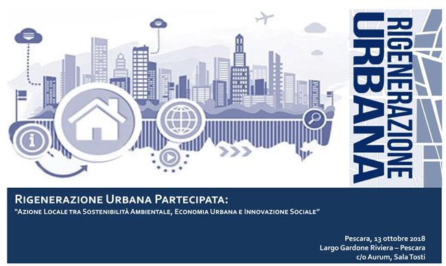 rigenerazione urbana partecipata convegno