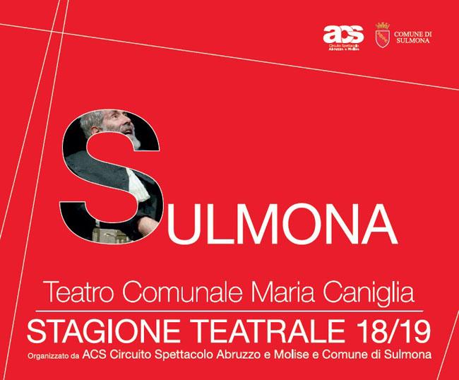 stagione teatrale 2018-2019 Sulmona