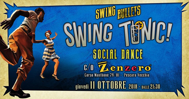Swing Tonic 11 ottobre 2018