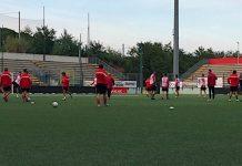 allenamento Teramo calcio
