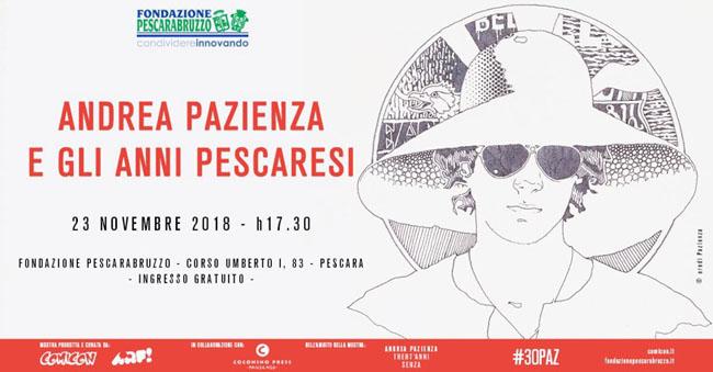 Andrea Pazienza incontro Pescara