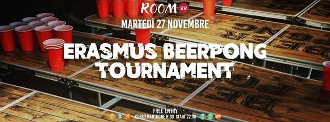 erasmus beer pong 27 novembre 2018