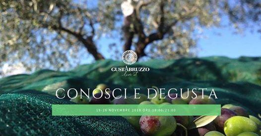 conosci e degusta olio d'oliva Pescara