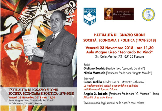 convegno Silone Pescara