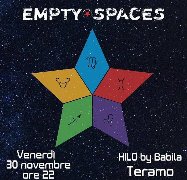 empty space 30 novembre