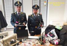 GdF Pescara contraffazione