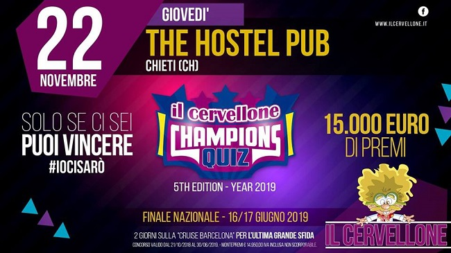 il cervellone the hostel 22 novembre