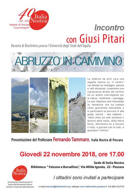 incontro Giusi Pitari