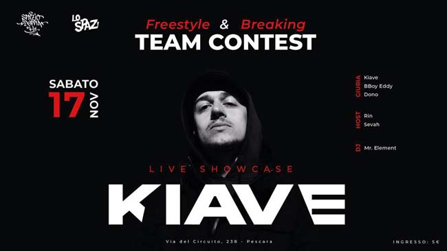 kiave live showcase