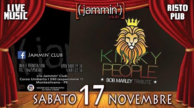 kinky people 17 novembre
