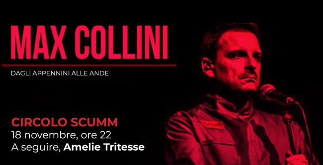 Max Collini 18 novembre 2018