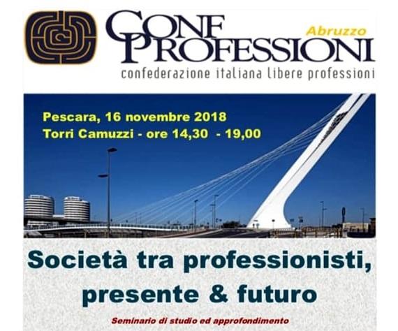 societa tra professionisti seminario Pescara