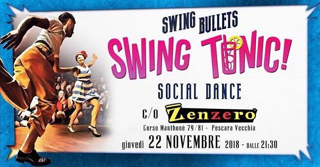 Swing tonic 22 novembre 2018