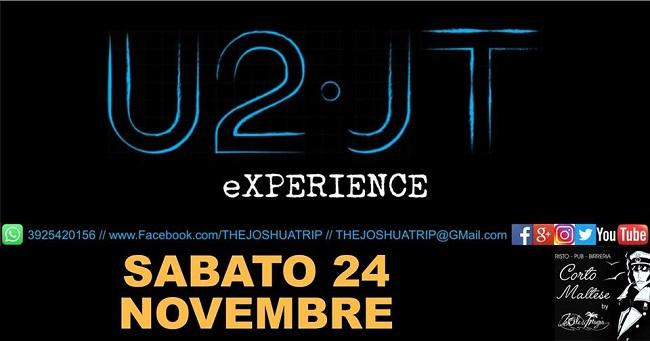 the joshua trip u2 experience 24 novembre