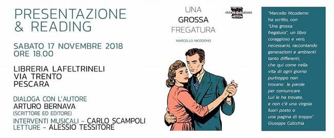 Marcello Nicodemo una grossa fregatura 17 novembre 2018