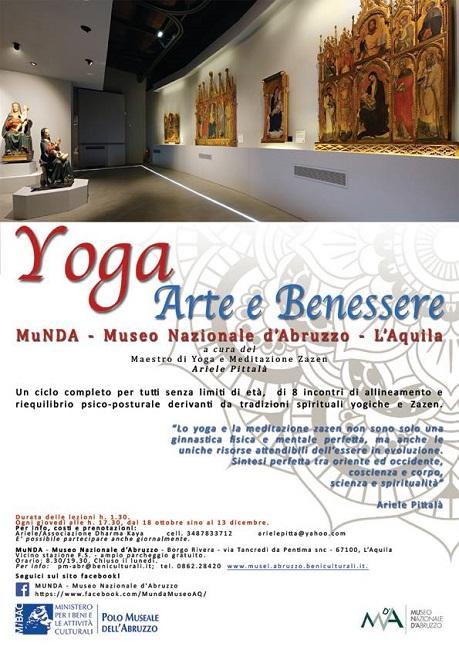yoga arte e benessere munda