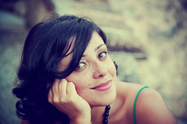 La scrittrice Valentina Di Cesare