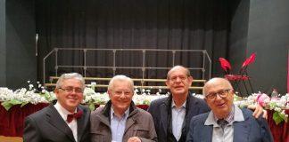 Aldo Angelucci, Luciano Flamminio, Marcello Marciani, Pietro Febbo