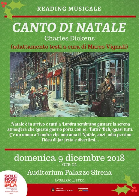 canto di natale francavilla 9 dicembre