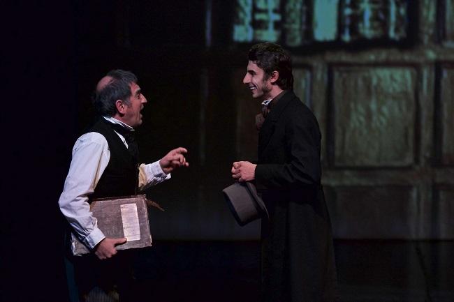 Alessio Tessitore e Edoardo De Piccoli in Canto di Natale 2