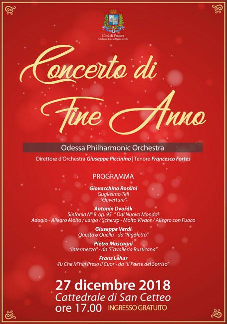 concerto di fine anno Pescara