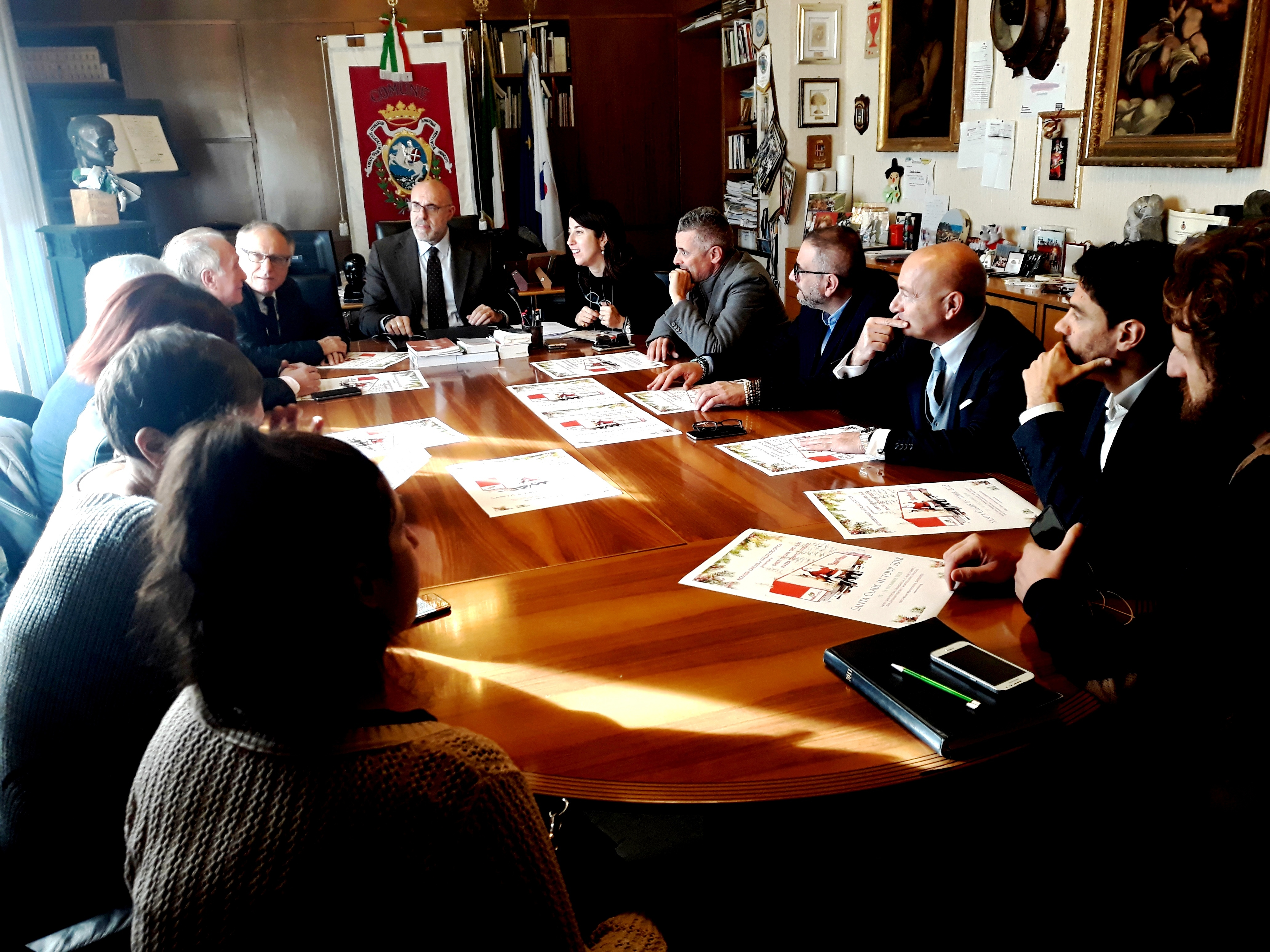 conferenza santa claus in tour