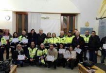 consegna attestati protezione-civile