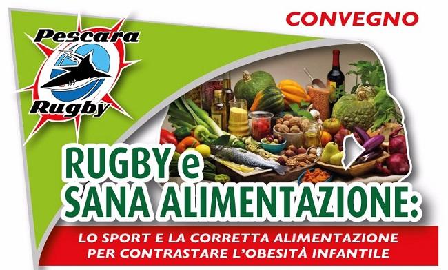 convegno rubgy alimentazione Pescara