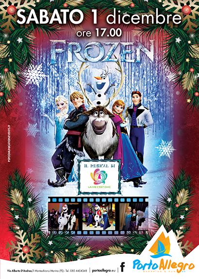 Frozen 1 dicembre 2018